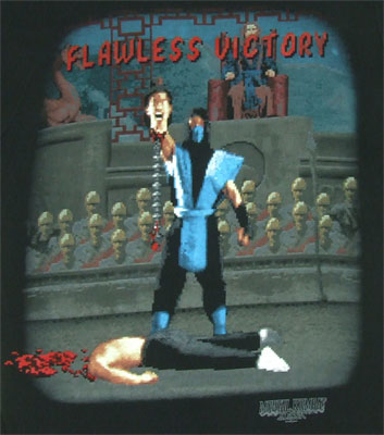 Sub-Zero Flawless Victory - Mortal Kombat Sheer T-shirt