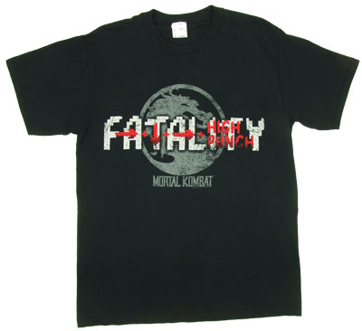 Fatality - Mortal Kombat T-shirt