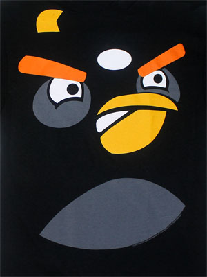 Bomber Face - Angry Birds T-shirt