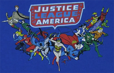 Here They Come - Justice League T-shirt