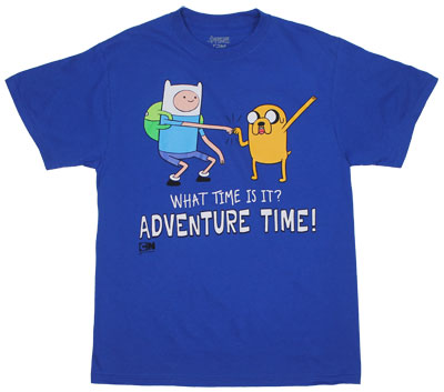 Fist Bump Time - Adventure Time T-shirt