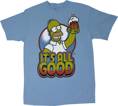 It's All Good - Simpsons T-shirt