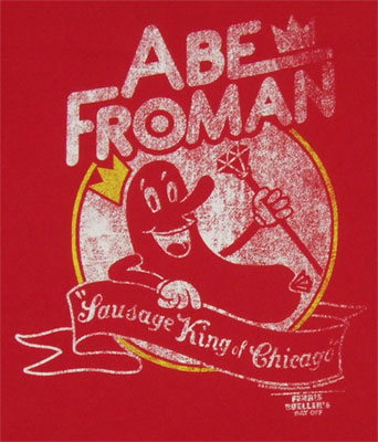 Abe Froman - Ferris Buellers Day Off T-shirt