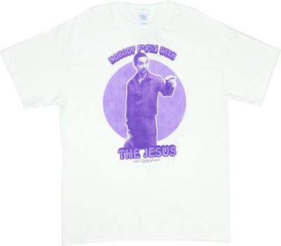 Nobody F*#%$ With The Jesus - Big Lebowski T-shirt