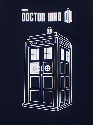 Tardis Sketch - Dr. Who Tank top
