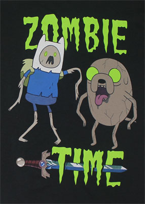Zombie Time - Adventure Time T-shirt