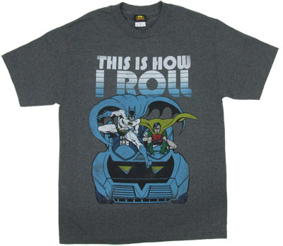 This Is How I Roll - DC Comics T-shirt