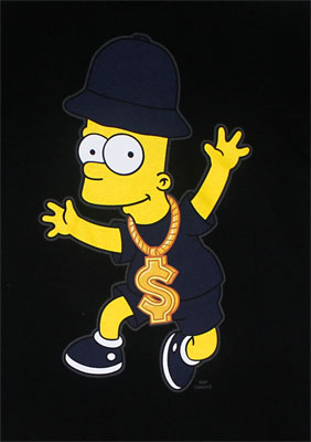 Funky Fresh Bart - Simpsons T-shirt