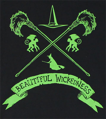 Beautiful Wickedness - Wizard Of Oz Sheer Women's T-shirt