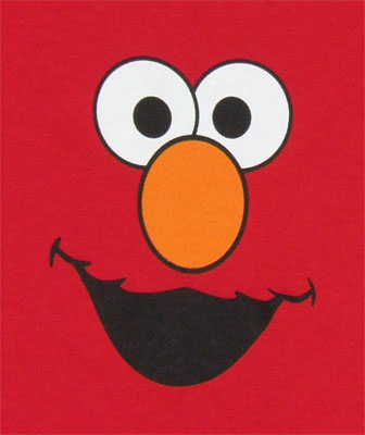 Elmo Face - Sesame Street Infant T-shirt