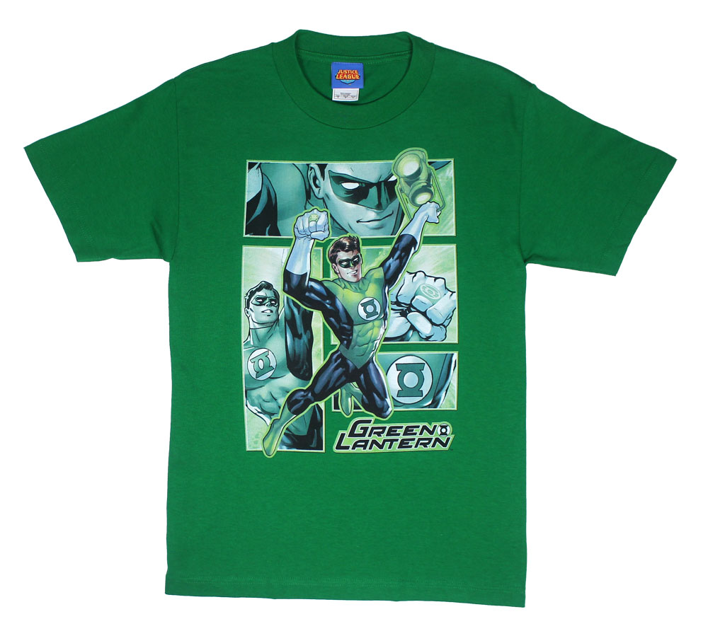 Green Lantern Panels - DC Comics T-shirt
