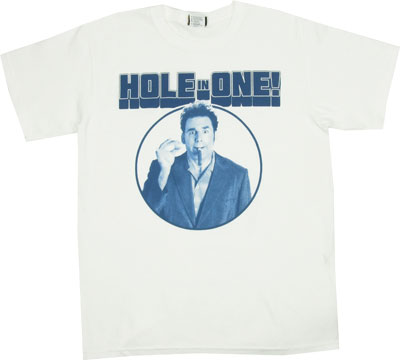 Hole In One - Seinfeld T-shirt