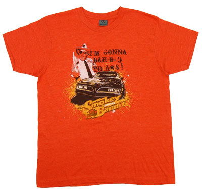 Bar-B-Q - Smokey And The Bandit Sheer T-shirt