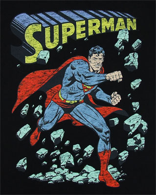 Smash - Superman - DC Comics T-shirt