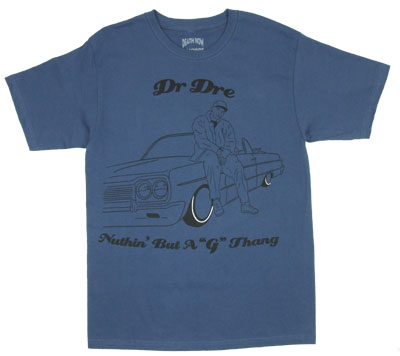 G Thang Sketch - Dr. Dre T-shirt