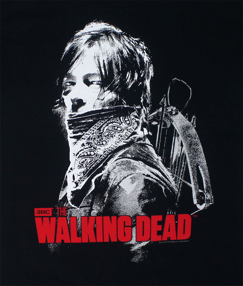 Daryl Bandana - Walking Dead T-shirt