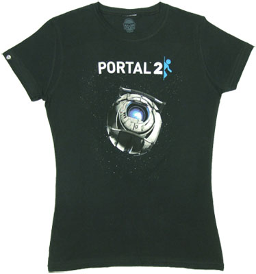 Portal 2 Sheer Women&#039;s T-shirt