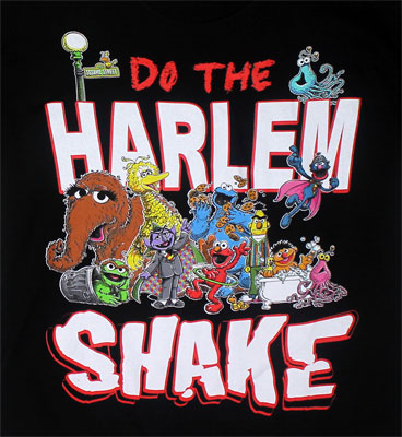 Do The Harlem Shake - Sesame Street Youth T-shirt