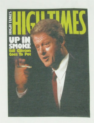 Clinton Cover - High Times Photo-Sheer T-shirt