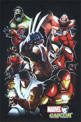 Not Enough Room - Marvel Vs. Capcom Sheer T-shirt