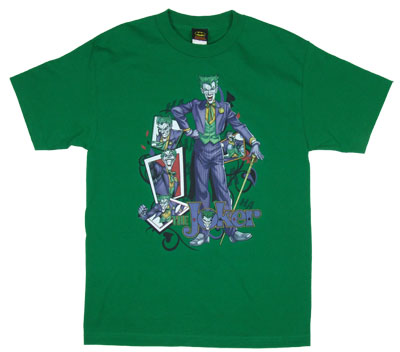 Wild Cards - Joker - DC Comics T-shirt