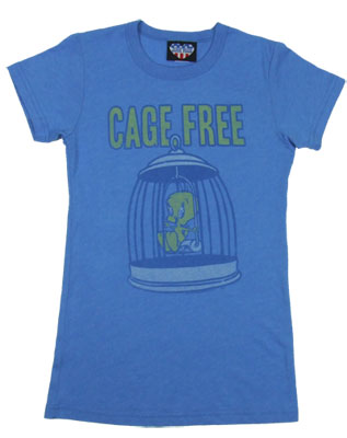Cage Free - Looney Tunes - Junk Food Women&#039;s T-shirt