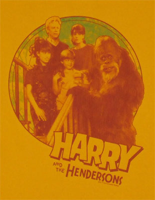 Family Addition - Harry And The Hendersons T-shirt