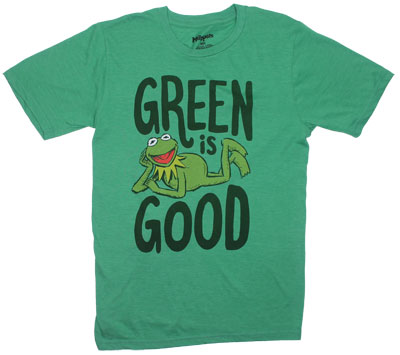 Green Is Good - Muppets Sheer T-shirt