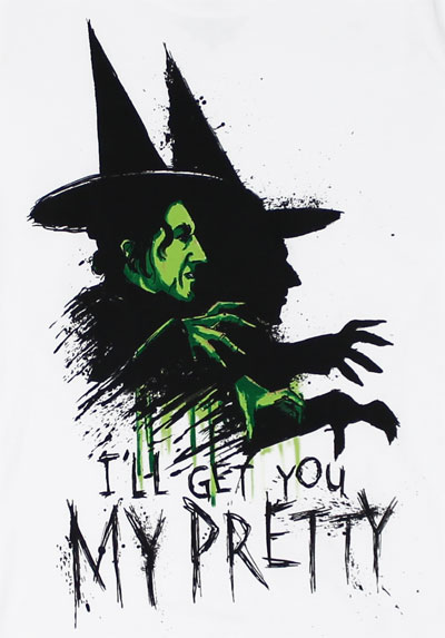 I'll Get You My Pretty - Wizard Of Oz Sheer Women's T-shirt