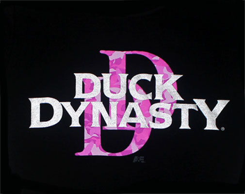 Pink Camoflauge DD - Duck Dynasty Juniors T-shirt