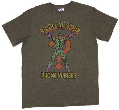 Riddle Me Your Phone Number - Junk Food Men&#039;s T-shirt