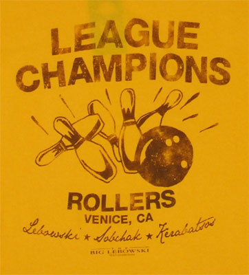 League Champions - Big Lebowski T-shirt