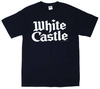 Stacked Logo - White Castle T-shirt