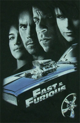 Four Faces - Fast & The Furious Sheer T-shirt