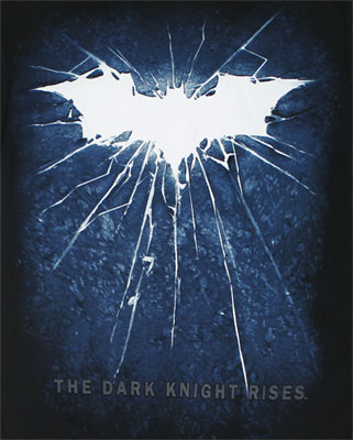 Shattered Logo - Dark Knight Rises T-shirt