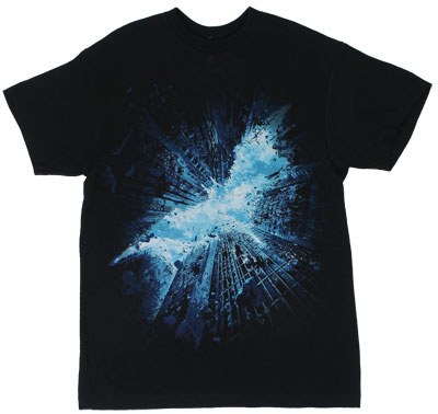 Movie Logo On Black - Dark Knight Rises T-shirt 