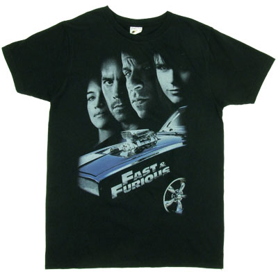 Four Faces - Fast &amp; The Furious Sheer T-shirt