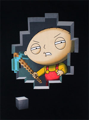Stewie Miner - Family Guy T-shirt