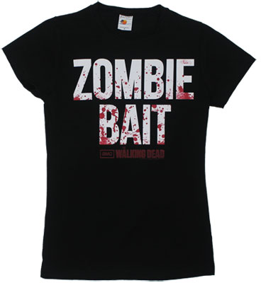 Zombie Bait - Walking Dead Sheer Women&#039;s T-shirt