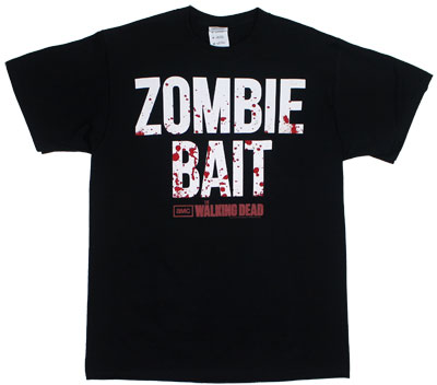 Zombie Bait - Walking Dead T-shirt 
