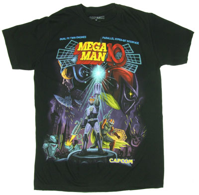 Mega Man 10 Sheer T-shirt