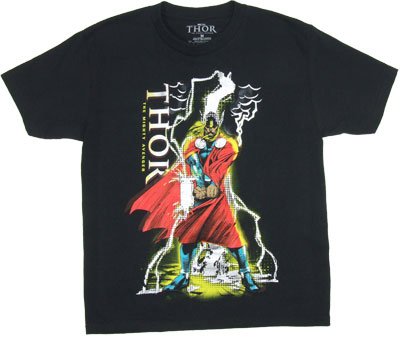 Thor Strikes Twice - Marvel Comics Boys T-shirt
