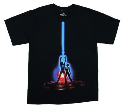 Movie Art - Tron T-shirt