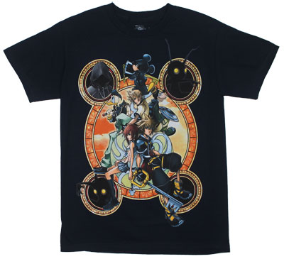 Stacked Against - Kingdom Hearts T-shirt