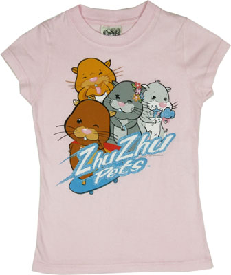 Zhu Zhu Pets Sheer Girls T-shirt
