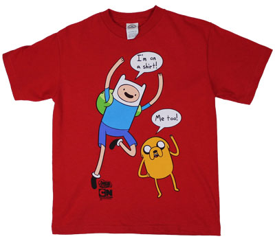 I&#039;m On A Shirt - Adventure Time Youth T-shirt