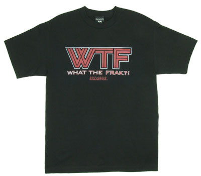 WTF - Battlestar Galactica T-shirt