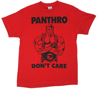 Panthro Don&#039;t Care - Thundercats T-shirt