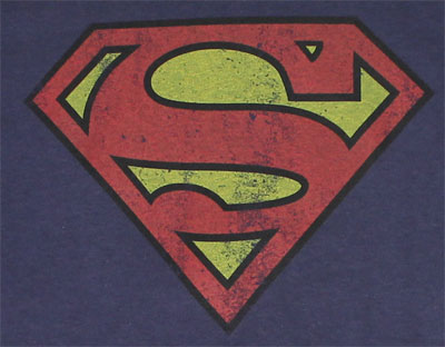 Vintage Superman Logo - DC Comics T-shirt