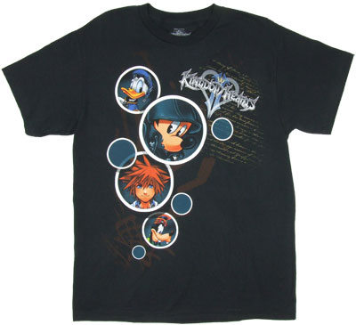 Bubbles - Kingdom Hearts T-shirt